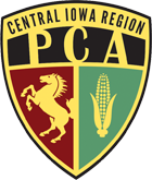 Central Iowa Region Porsche Club of America logo